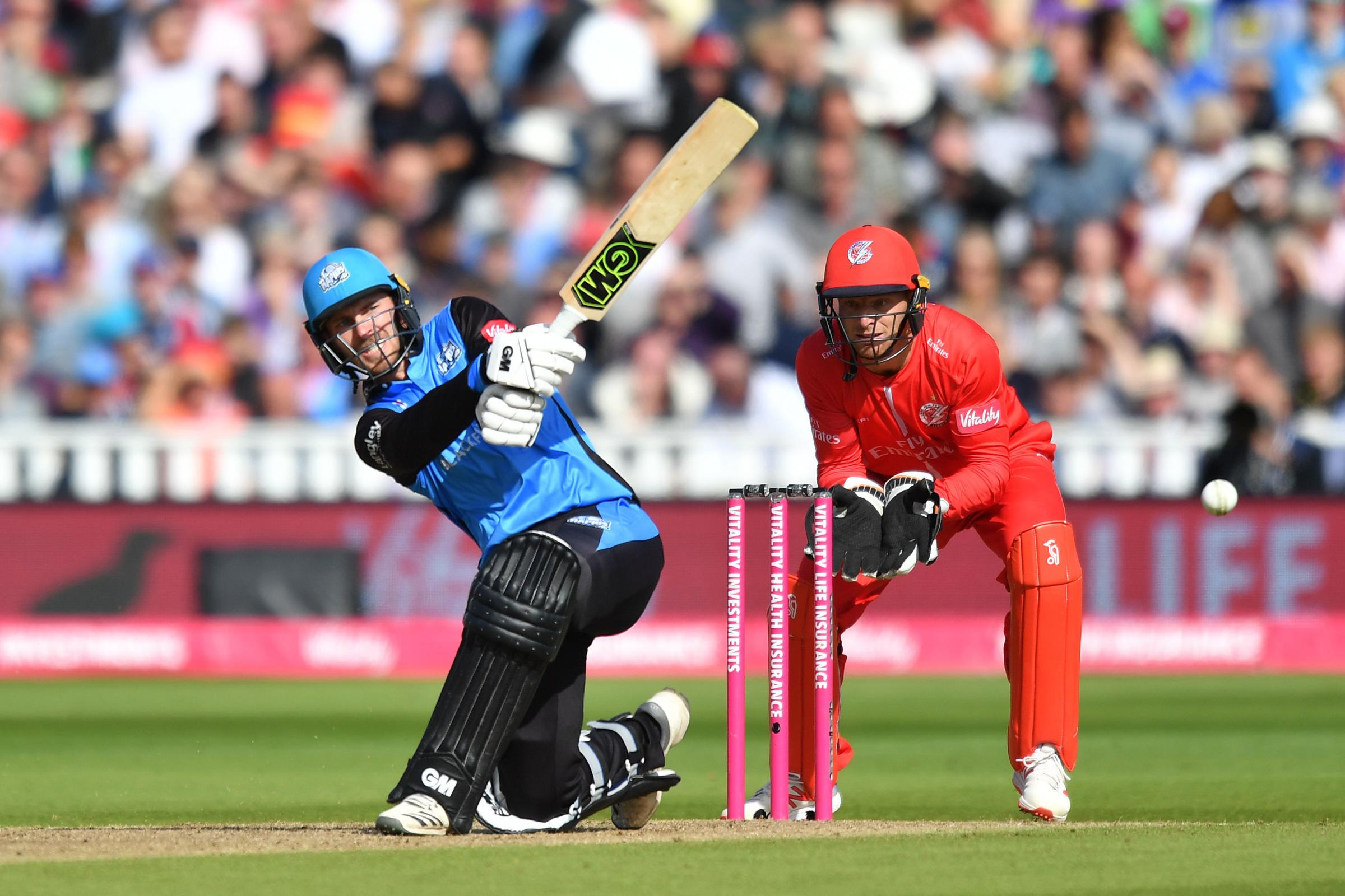 Tom Fell is back among the runs for Worcestershire Rapids. Picture: ANTHONY DEVLIN/PA WIRE