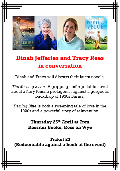 Dinah Jefferies and Tracy Rees in Conversation