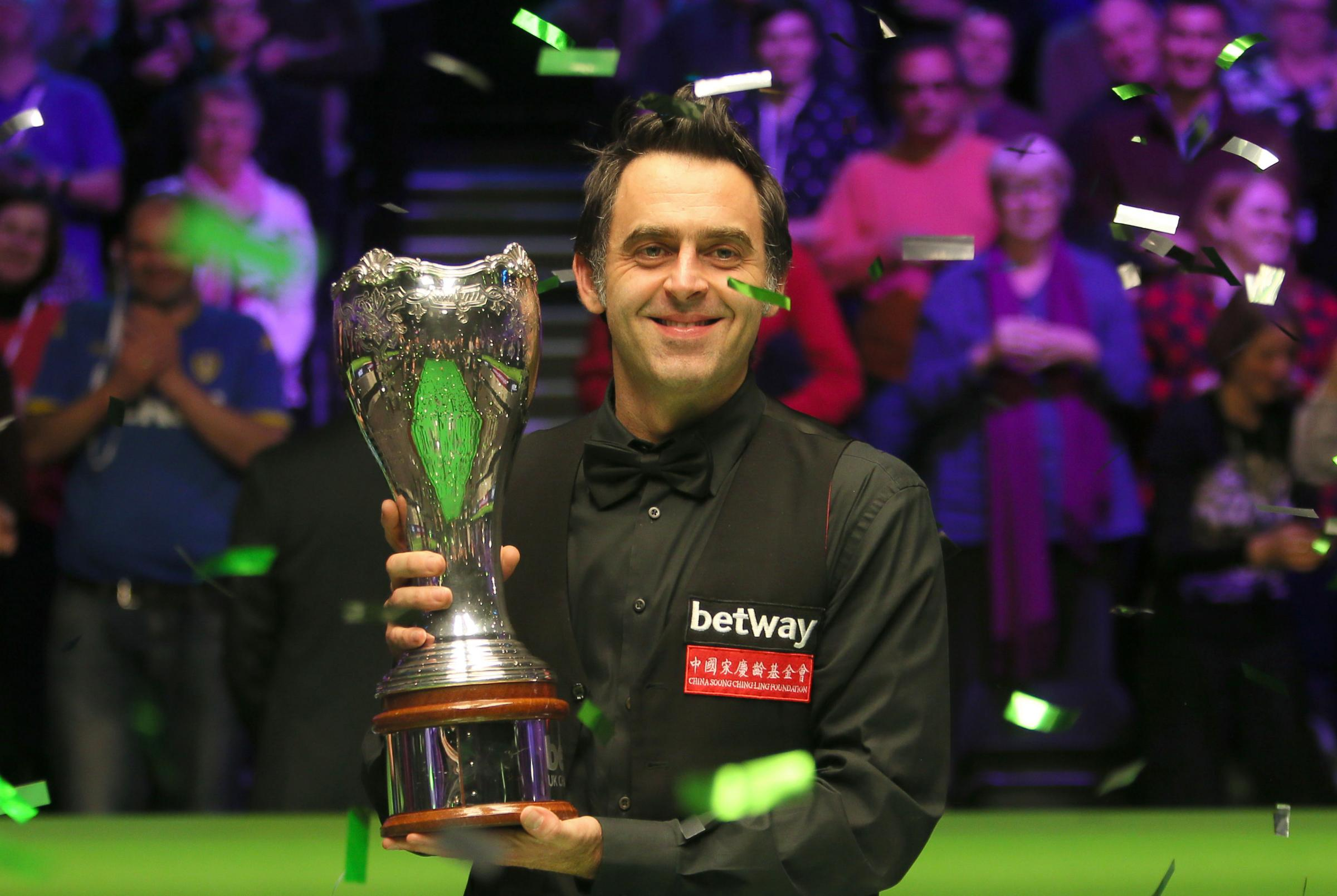 Ronnie O'Sullivan's 500th career century came right here in Kidderminster.