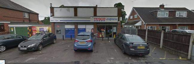 LORRY RAID: Tesco Express, Bridge Street, Cookley, Kidderminster. PIC: Google Maps.