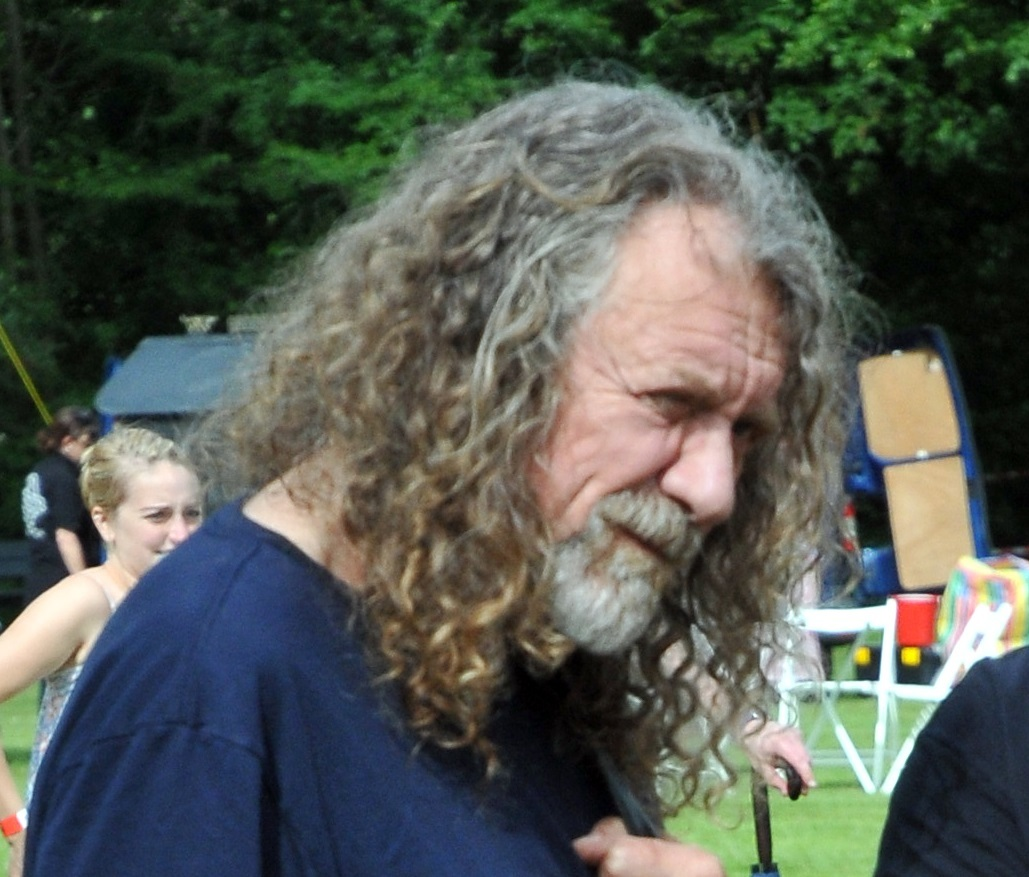 Robert Plant is a big fan of Martin Wall's new book The Magical History of Britain. Picture: Andy Compton