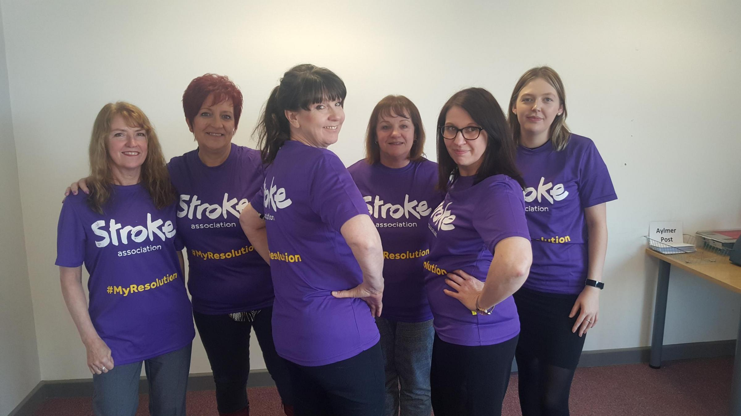 Aylmer Lodge Cookley Partnership staff take on charity challenge.