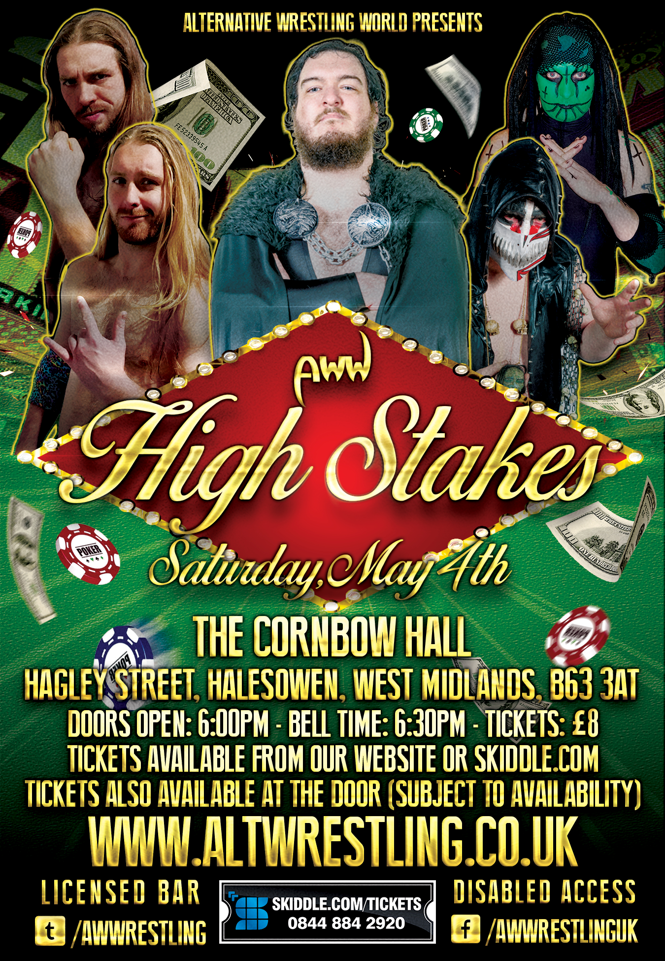 AWW Wrestling - High Stakes