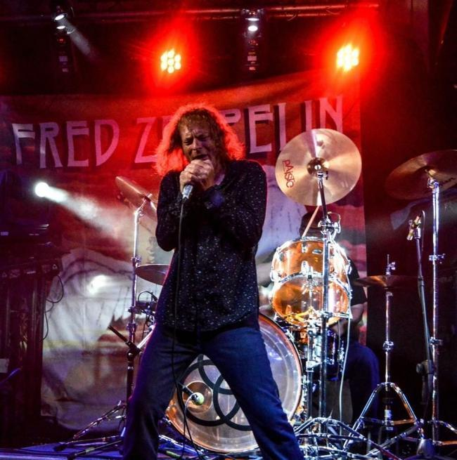 Fred Zeppelin rocking out