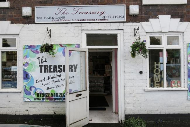 The Treasury Craft Shop In Kidderminster To Close Kidderminster