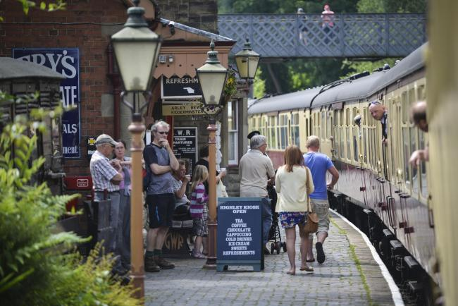 There's lots going on at the Severn Valley Railway this half-term