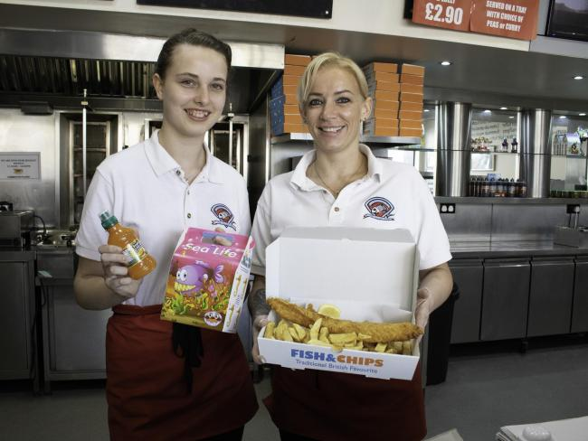 Comberton Plaice staff Chloe Murphy and Karly Barrett