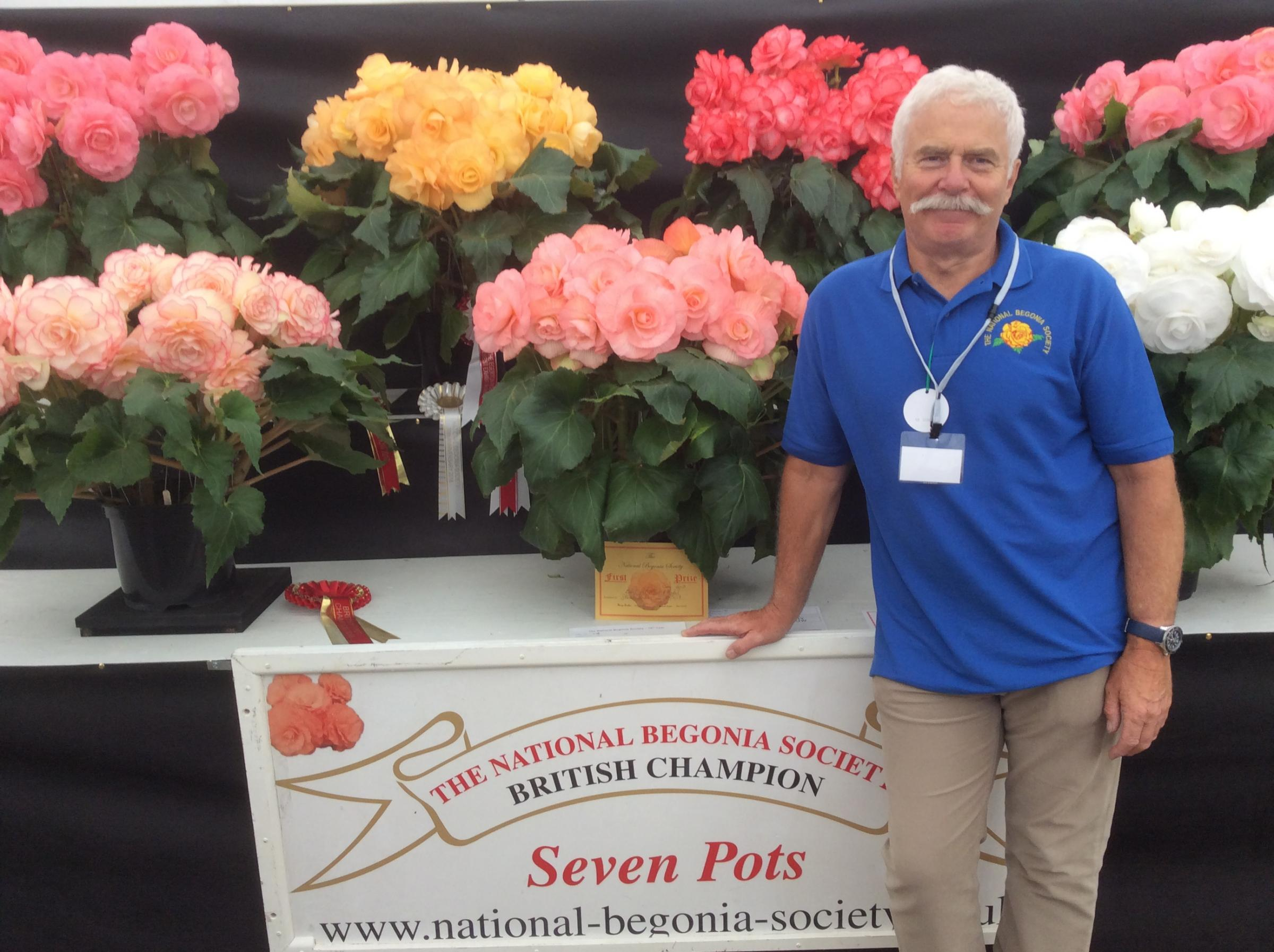 Central section National Begonia Society talk.