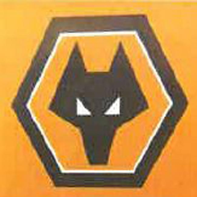 The Wolverhampton Wanderers football club badge. Photo by Rolls Building Court/PA Wire