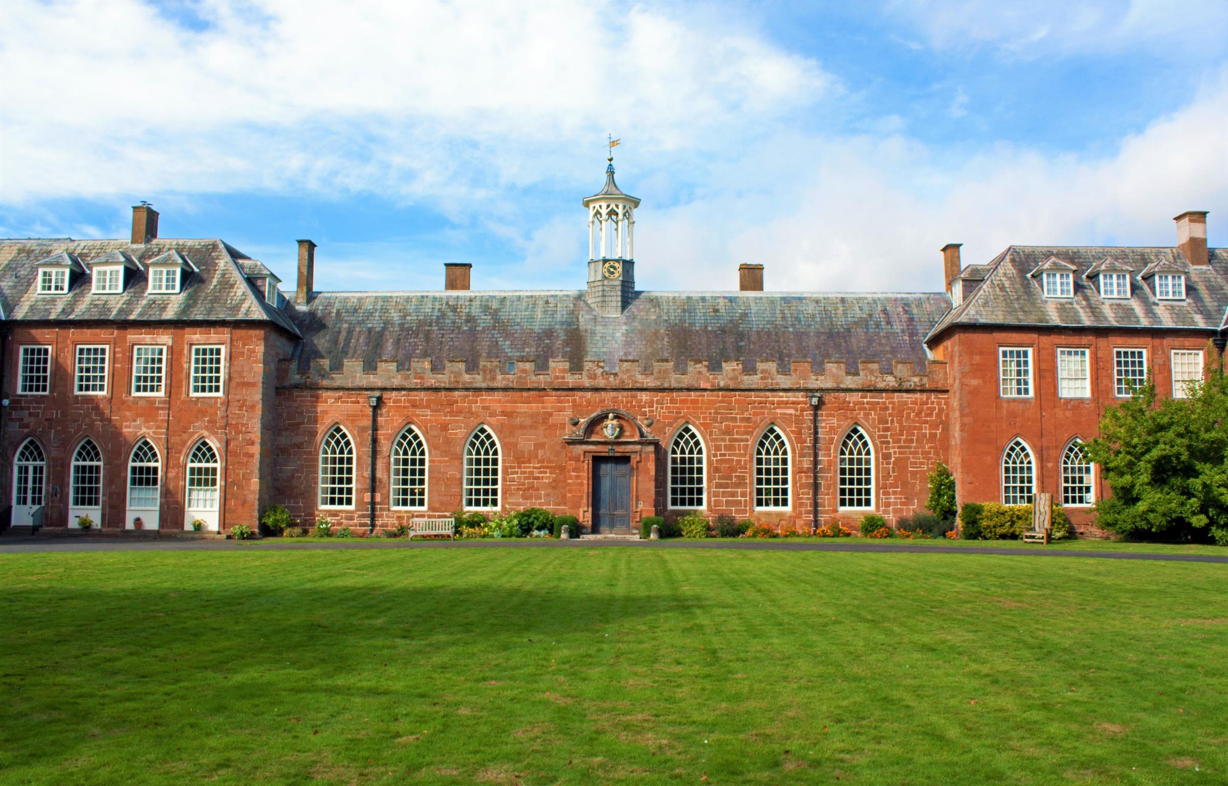The award-winning Hartlebury Castle