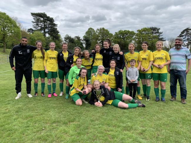 Double delight for Cookley Ladies