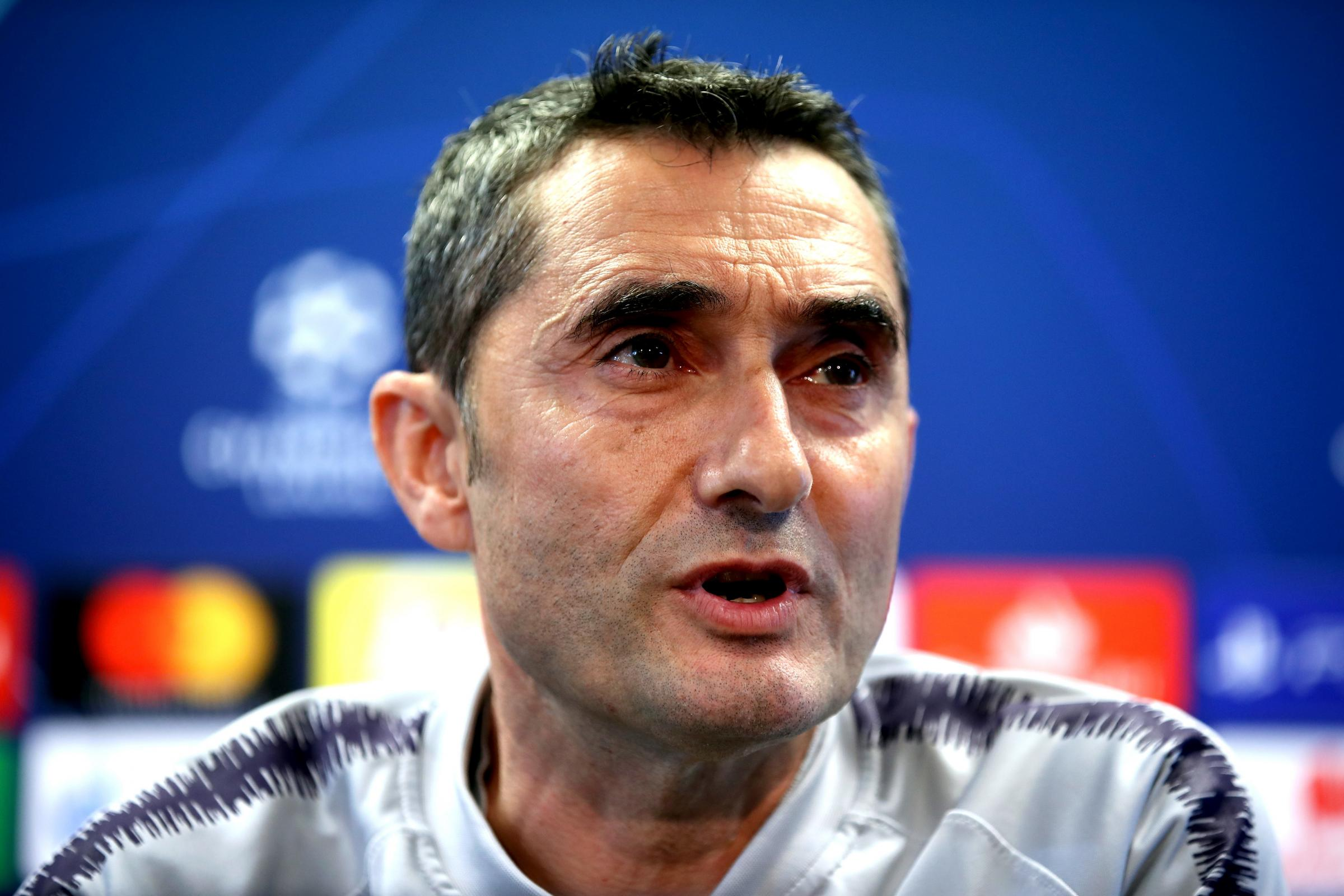 Ernesto Valverde led Barcelona to the LaLiga title