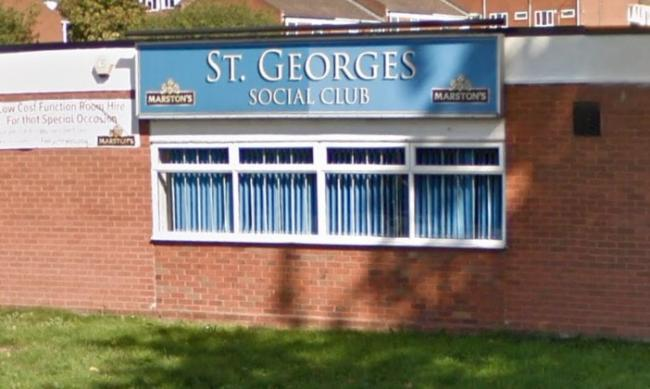St George's Social Club, Radford Ave, Kidderminster. PIC: Google Maps.