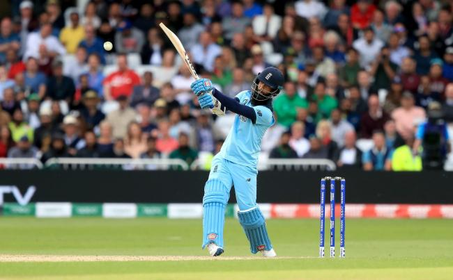 Moeen Ali bats for England during the ICC Cricket World Cup. Picture: SIMON COOPER/PA WIRE