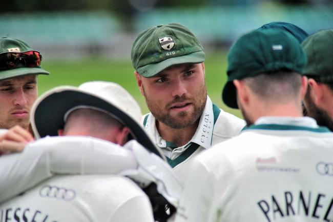 Club captain Joe Leach took three wickets on day 1 of the pre-season 3-day fixture with Durham at Kidderminster.